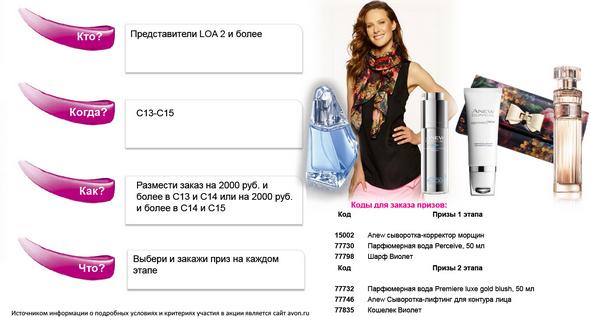 www.avon.ru условия программы для представителей законы притяжения в кампаниях 13-15.2015